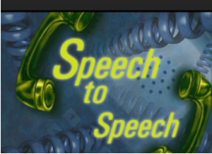 A picture taken from Speech to Speech website