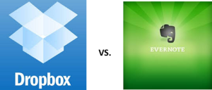 Dropbox vs Evernote