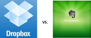 Dropbox vs Evernote