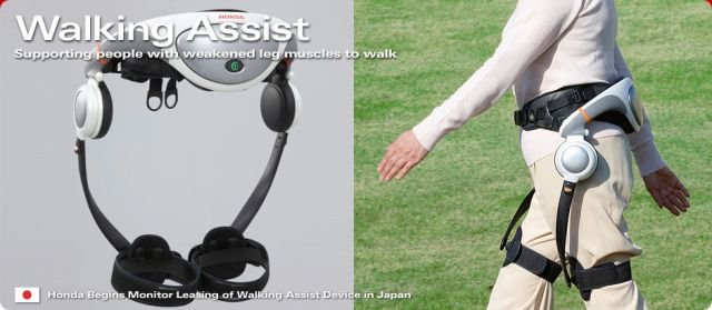 Honda Walking Device