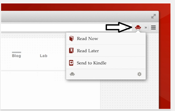 Readability Extension within Chrome