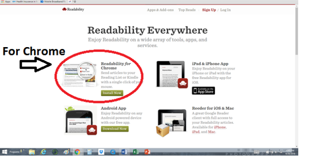 Readability Options