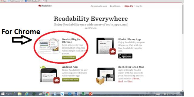 Readability Options
