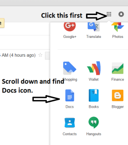 google-docs-Chrome
